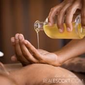 Massaggio con oli