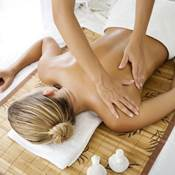 Massage behandling